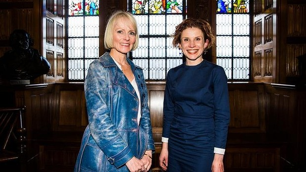 Lucy Treloar and Fiona Wright